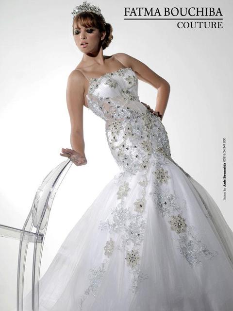 La nouvelle collection des robes de mariées signée Bouchiba