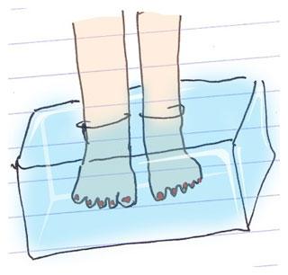 J 39 ai les pieds gel s part 2 for Geles placer