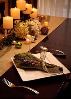 une table aux allure de f te. Black Bedroom Furniture Sets. Home Design Ideas