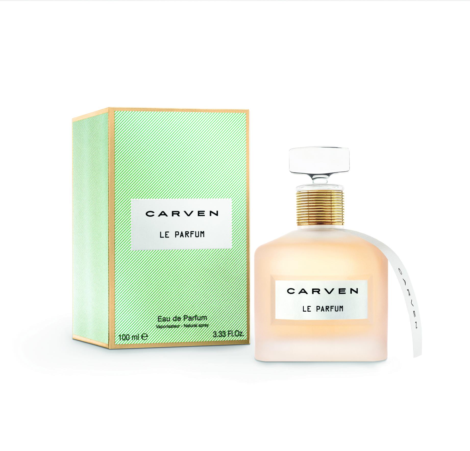 Packshot Produit Carven Le Parfum