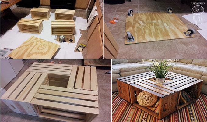 déco-custom caisse en bois