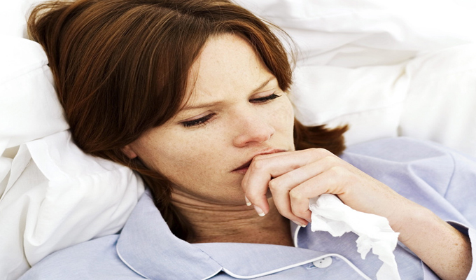 Аллергический кашель беременной