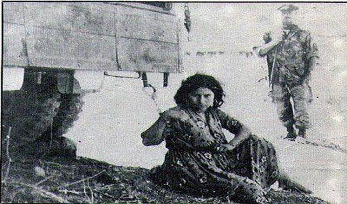 Zulaikha attachée à une voiture militaire, traînée et torturée pendant 10 jours... avant d'être jeter d'un hélicoptère.