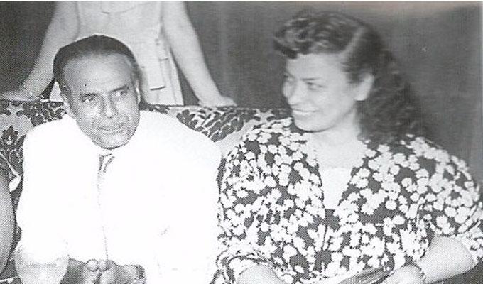 B'chira avec Habib Bourguiba