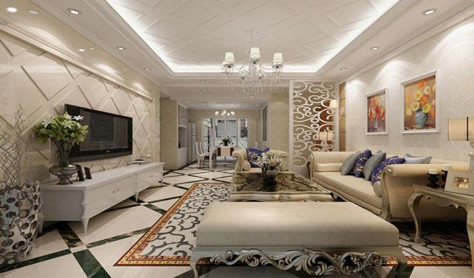 Dix astuces pour donner une touche de luxe votre maison Salon moderne entunisie