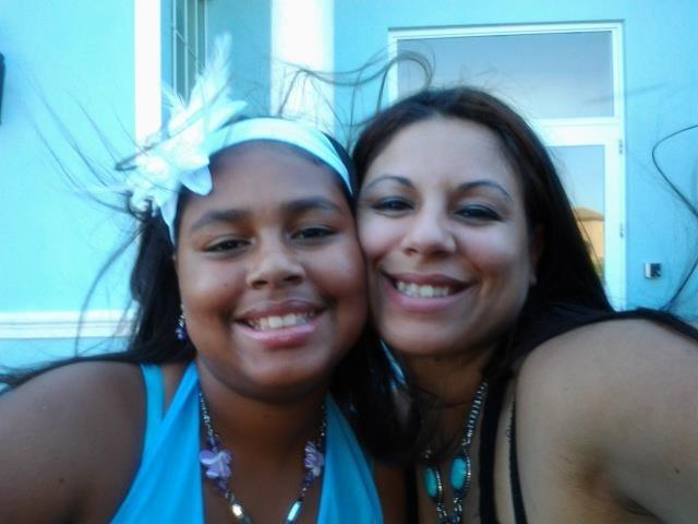 Lourdes Guzman DeJesus avec sa mère Ady DeJesus