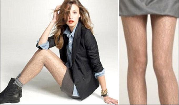 société-jambes-poils