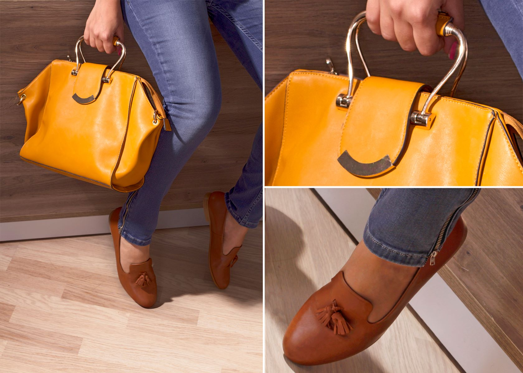 Sac : 94.900 DT Chaussures : 89.900 DT