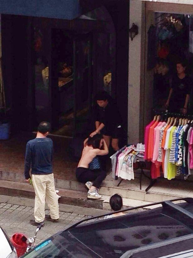 Topless-shoplifter-Yu-Chung