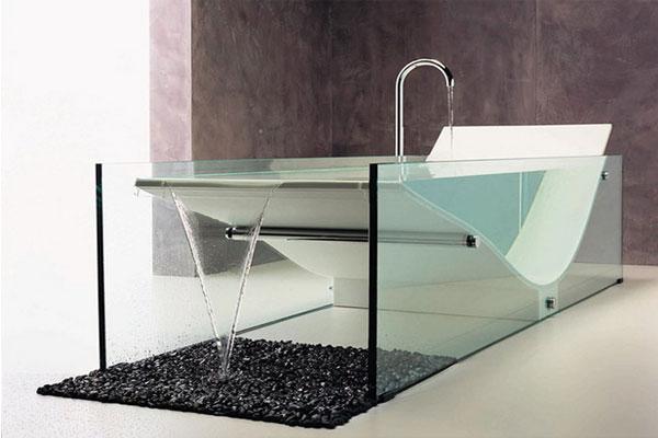 La baignoire claire