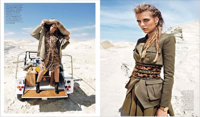 """Desert cool"" de madame air France"
