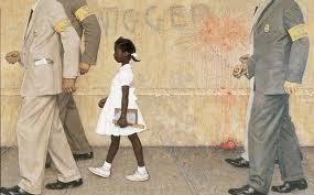Norman Rockwell dans la peinture le problème que nous vivons tous avec