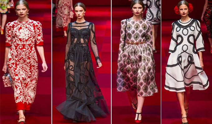 210f8d0557b69b La nouvelle collection Dolce   Gabbana printemps-été 2015