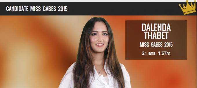 Miss Tunisie2015-Miss gabes