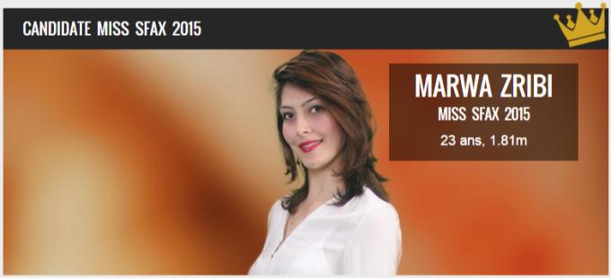 Miss Tunisie-Miss sfax