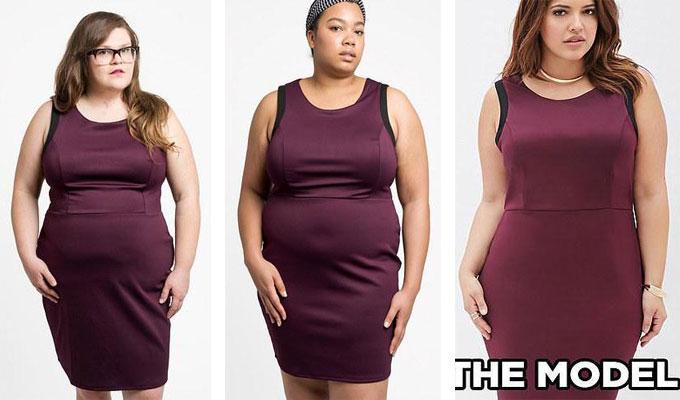Nous déduisons que même si le marché de la mode relative à la taille XXL  génère plus 17.6 $, les annonceurs de l\u0027enseigne vestimentaire ne croient  pas que