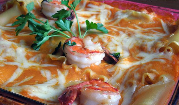 cuisine-lasagne-crevette