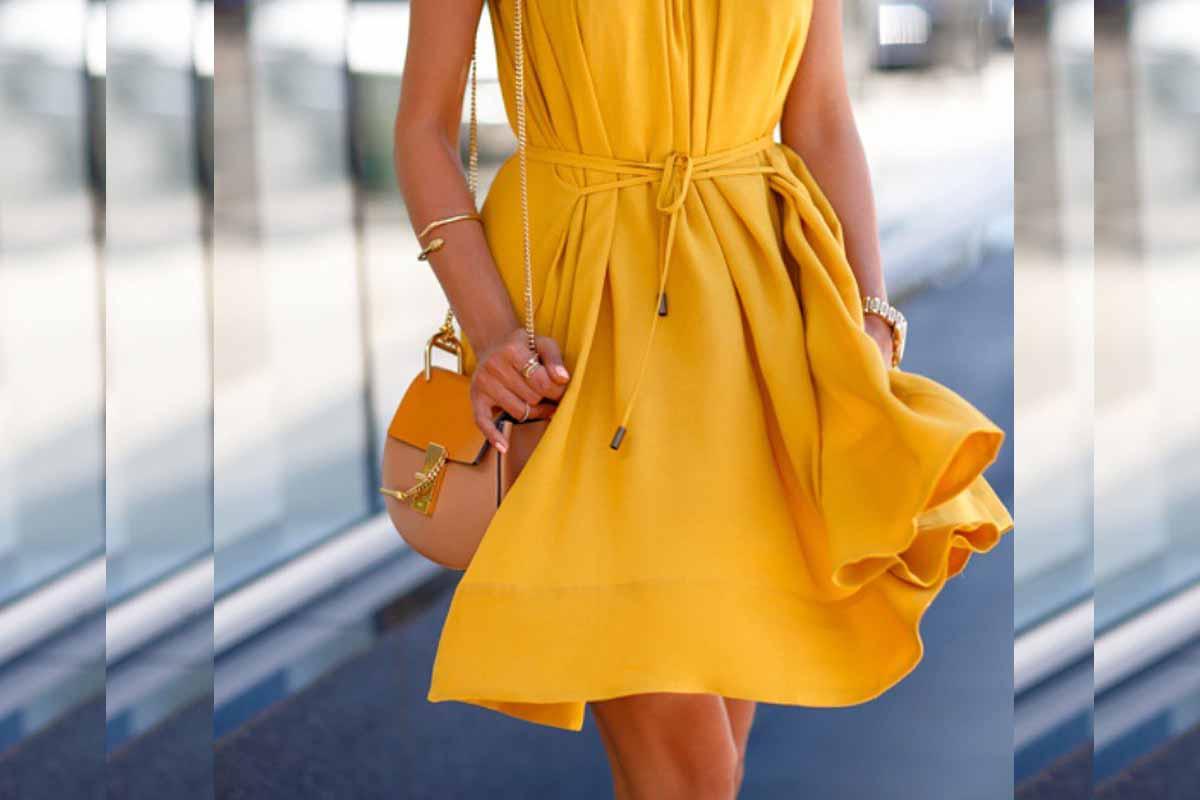3f360fb4932c Magnifique robe jaune