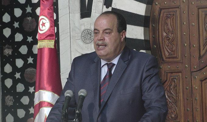 tunisie-directinfo-Mohamed-Najem-Gharsalli-ministre-de-l-Interieur-gouvernement-Essid