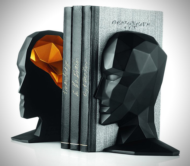 Knowledge-In-The-Brain-Bookends