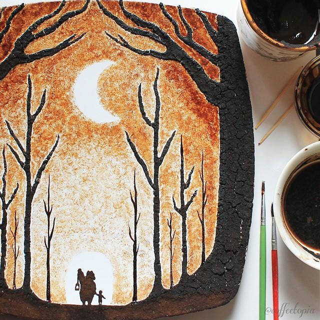 coffee-painting-leaf-grounds-ghidaq-al-nizar-coffeetopia-10