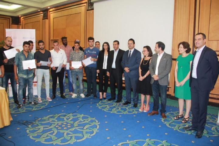 Lauréats qui vont intégrer Tunisie Câble