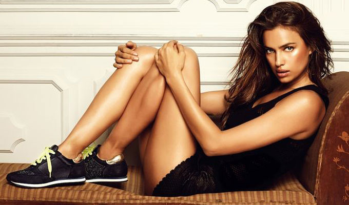 le top modèle Irina Shayk