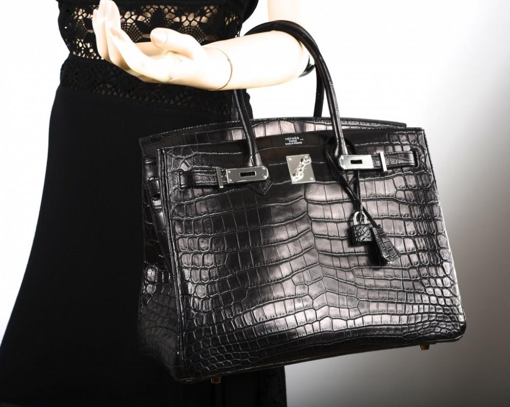 Hermes-Matte-Crocodile-Birkin-Bag
