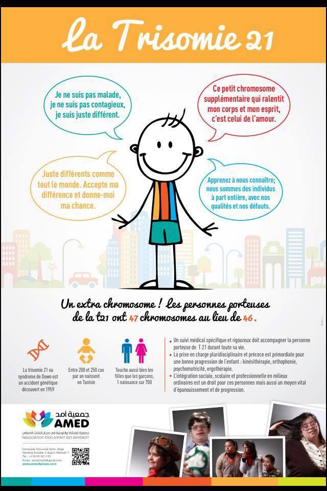 Le 21 mars, Journée internationale de la trisomie 21!