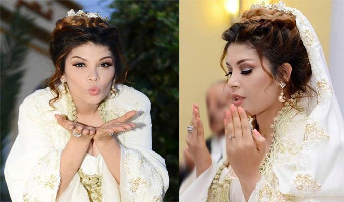 """La star tunisienne de Showbiz """"Zaza"""" a célébré son mariage la ..."""