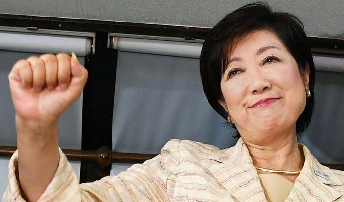 Yuriko-Koike-femme-gouverneur-tokyo
