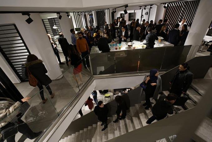 En photos l inauguration le nouveau showroom de meubles mezghani