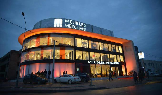 En photos l inauguration le nouveau showroom de meubles mezghani