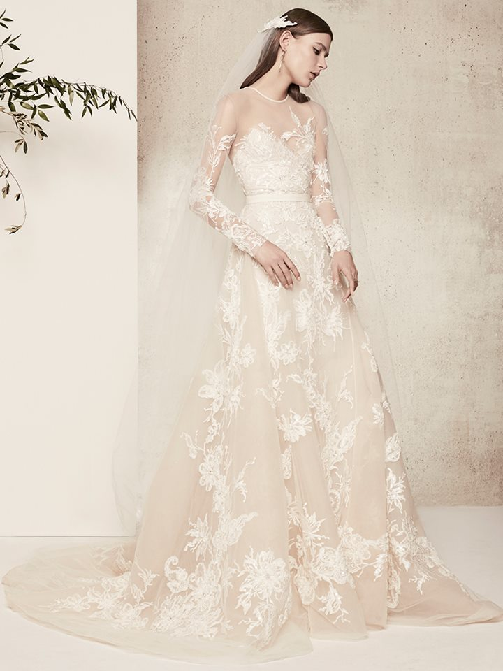 Elie Saab Dévoile Sa Collection De Robes De Mariée Printemps