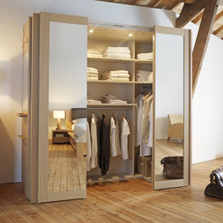 Un dressing dans une petite chambre c 39 est possible - Creer un placard dans une chambre ...