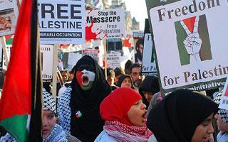 La journée internationale de solidarité avec le peuple palestinien