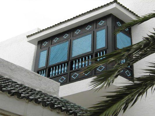 La Ganaria, cette loggia balcon