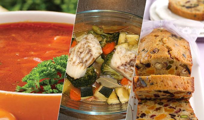 Menu du jour soupe au poisson market sfaxienne cake aux - Cuisine au pays du soleil ...