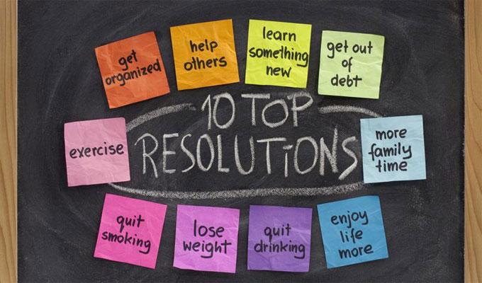 nouvelle année perte de poids
