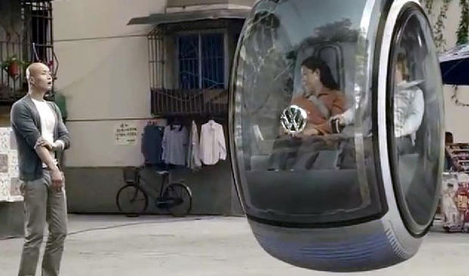 hover car la voiture qui vole le nouveau mod le de la maison volkswagen. Black Bedroom Furniture Sets. Home Design Ideas