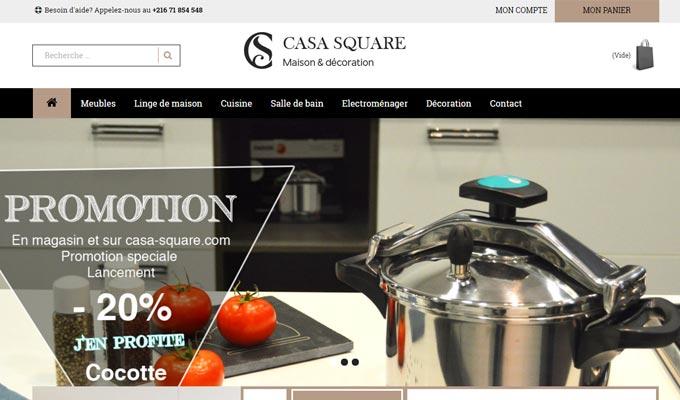 le groupe sanibains lance sa plateforme de vente en ligne casa square. Black Bedroom Furniture Sets. Home Design Ideas