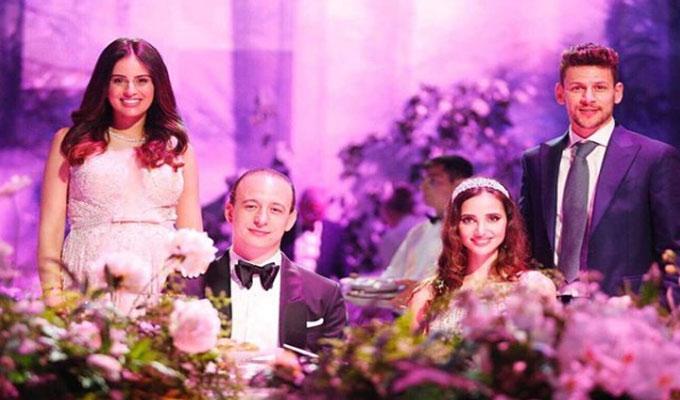 Le mariage se déroulera en présence de plusieurs personnalités  publiques.Parmi ces célébrités on compte la présence du couple Msakni.